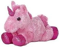 Aurora 8 Mini Flopsie Plush Unicorn - Pink