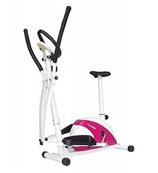 Bicicleta Elíptica-Dual, bici estática, bicicleta indoor, ideal para cardio, pulsómetro