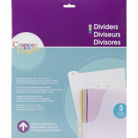 Cropper Hopper Vertical Organizers Dividers 12