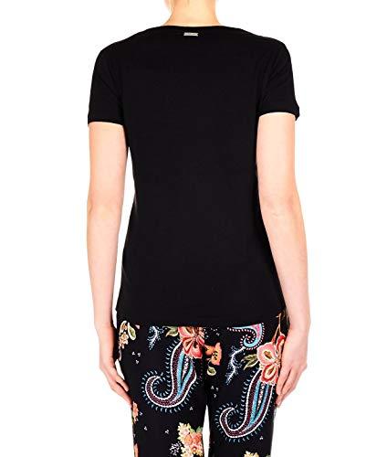 Courage Mujer Negro Algodon Quantum shirt Offlineluxury3black T TA0dqd8xn