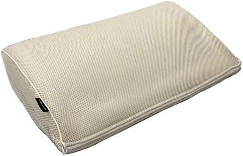 エアー DE 枕 ミルキーホワイト (約50×32×6~13)