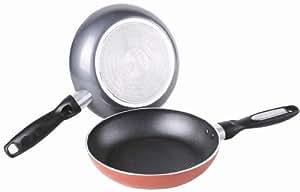 Gourmet Chef Heavy Duty 10 Inch Non Stick Fry Pan, Black