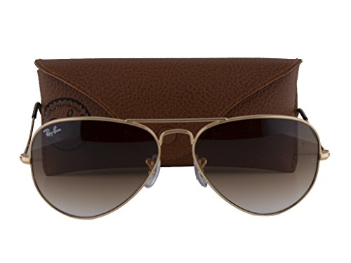 Ray Ban RB3025 Arista w/Crystal Brown Gradient - Sunglasses Famous Ban Ray