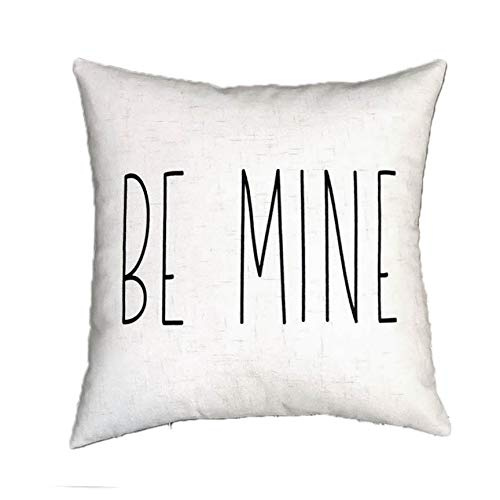 Toll2452 Be Mine - Funda de Almohada (45 x 45 cm), diseño de ...