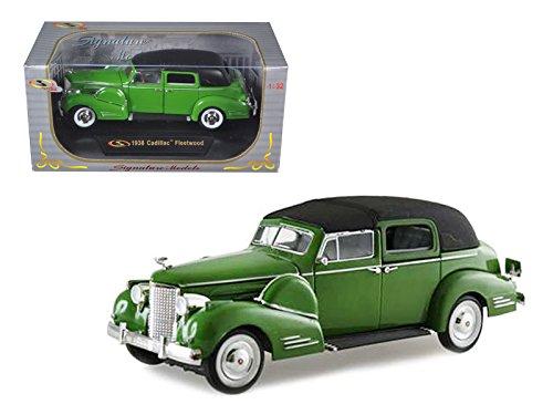 1938 Cadillac Series 90 V16 Fleetwood Green 1/32 by Signature Models 32340