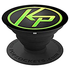 You can do anything with this Kim Possible PopSocket featuring the classic green and black KP logo from the Disney Channel live-action movie. PopSockets for phone and tablet make the perfect gift for Disney fans.