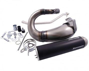 Auspuff Tecnigas E-NOX Steel f/ür Aprilia SX 50