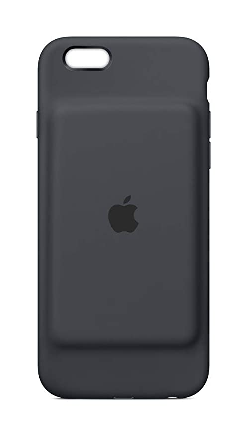 283baf47af9 Apple Smart Battery Case - Funda para el iPhone 6s, gris carbón: Apple:  Amazon.es