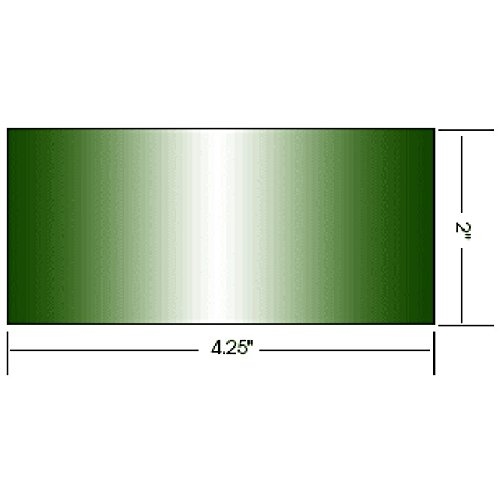 AlloWeld Welding Lens - Small 2 x 4.25 (Green Shade 10)