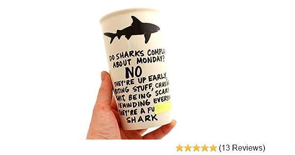 Mature Shark Eco Travel Mug