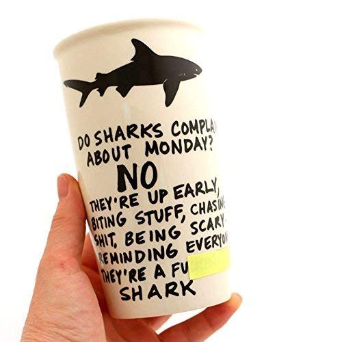 Mature Shark Eco Travel Mug ()