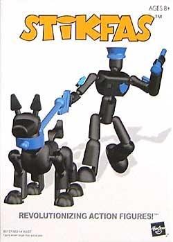 Stikfas AFK 10 Alpha Male K-9 Police Unit [Toy] (K9 Alpha)