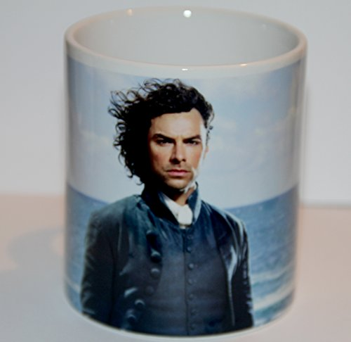C & S Official Poldark Mug - Ross Poldark (Blue - Mug Background