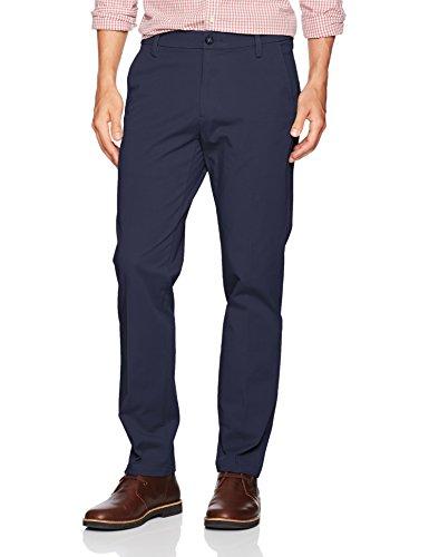Dockers Men's Slim Tapered Fit Workday Khaki Smart 360 Flex Pants, Pembroke (Stretch), 36W x 29L ()