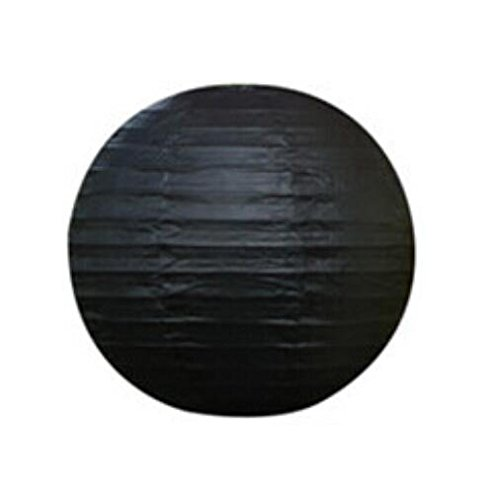 """UPC 700424169382, Domire 12 Pcs 12"""" Black Chinese Paper Lanterns/lamps for Parties, Weddings"""