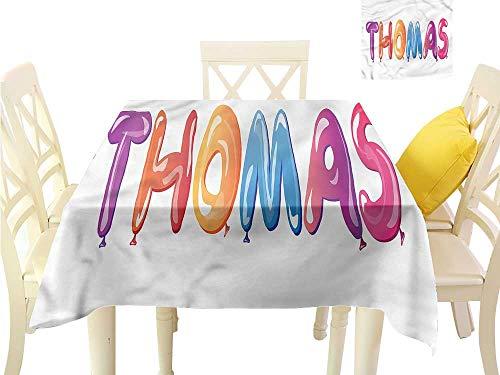 WilliamsDecor Outdoor Picnics Thomas,Favorite Boy Name Design Outdoor Picnics W 60