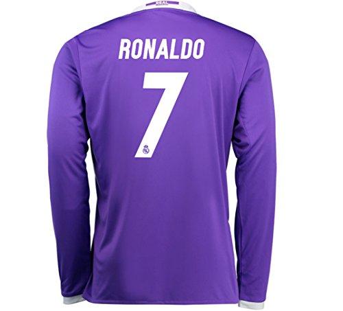 Long Sleeve Away Soccer Jersey - 2