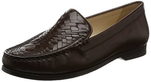 Cole Haan Para Mujer Pnch Genevieve Weave Slip-on Loafer Chestnut