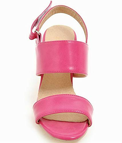 Rosered Sandali Puro Velcro Agoolar Tacco Luccichio Gmmlb010433 Donna Medio n6YO8q