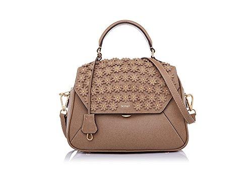 bonia-womens-khaki-blossoms-on-satchel