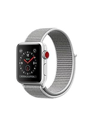Apple watch series 3 Aluminum case Sport 38mm GPS + Cellular GSM unlocked