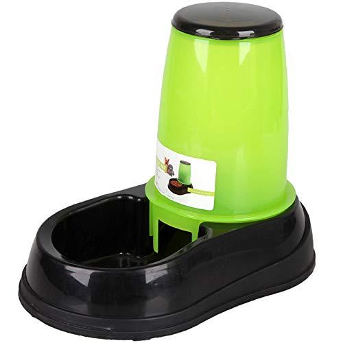 SODIAL Gro?Er Automatischer Trink Brunnen der Futterautomat 2.5L für Katzen Hunde Klima Plastik Hunde Futter SchüSsel…