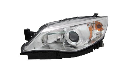 Subaru Impreza Replacement Driver (OE Replacement Subaru Impreza Driver Side Headlight Assembly Composite (Partslink Number SU2502124))
