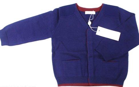 Cacharel algodón infantil de neopreno para niños azul marino funda magnética con función atril chaqueta funda
