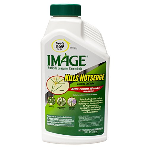 Image Herbicide Consumer Concentrate: Kills Nutsedge (Kills Tough Weeds in Lawns)- Treats 6,000 sq ft- 24 fl oz (Nutsedge Weed Control)