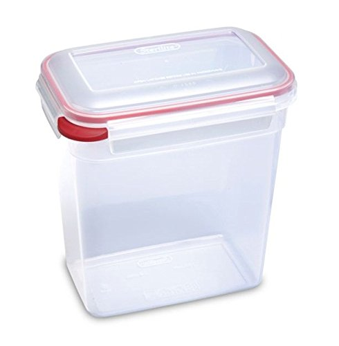 Sterilite Food Storage Ultra Latch 16 Cup Clear Container