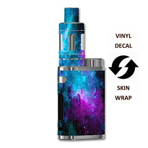 Vinyl Decal Sticker Skin Wrap Eleaf iStick Pico 75W TC Vape E-Cig Mod Box/Nebula Galaxy Space Design Pattern Print