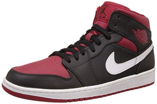 Nike Scarpe da Uomo Nero (Schwarz (Black/Gym Red-white))