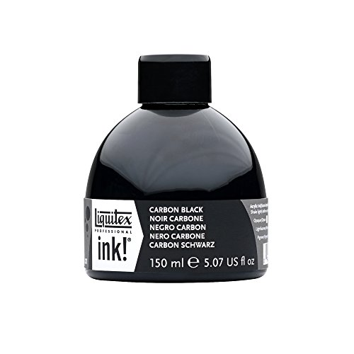 Liquitex Professional Acrylic INK! 5.1-oz Jar, Carbon Black by Liquitex