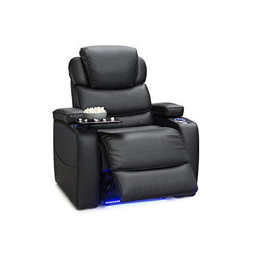 Barcalounger Columbia Leather Gel Power Recliner