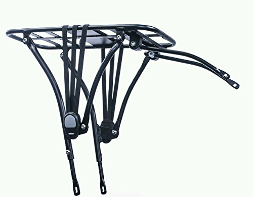 Durban Bike Rear Rack - Adjustable for 20'' Bicycles - 33Lbs Max. Load by Urban D (Image #1)