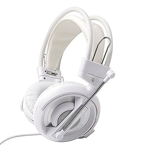 GranVela H007 Gaming Headset 3.5mm Stereo Headphones with Enhanced Bass, Volume Control and Microphone for PC Computer Game