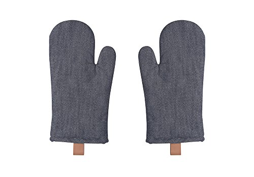 Now Designs Renew Oven Mitts, Set of Two, Denim