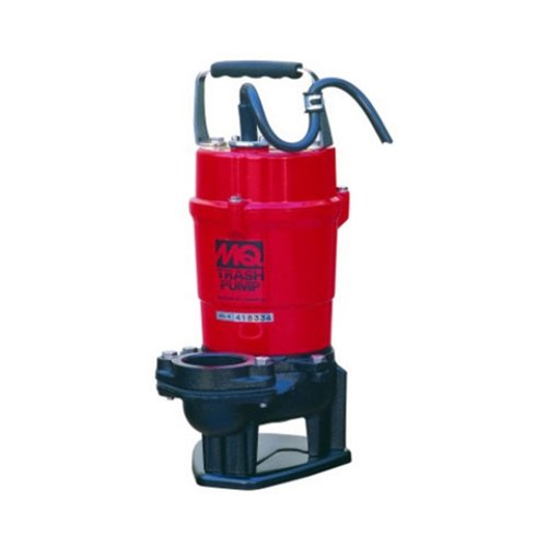 Multiquip ST2040T Electric Submersible Trash Pump with Single Phase Motor, 1 HP, 79 GPM, 2'' Suction & Discharge