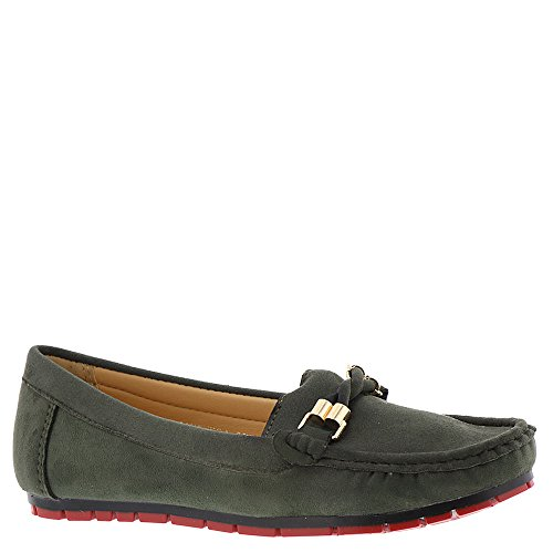Patrizia Ranchera Womens Slip On Green