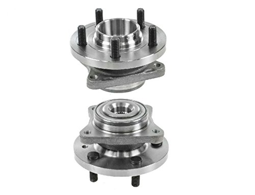 Front Wheel Hub & Bearing Pair Set for Land Rover LR3 LR4 Range Rover Sport