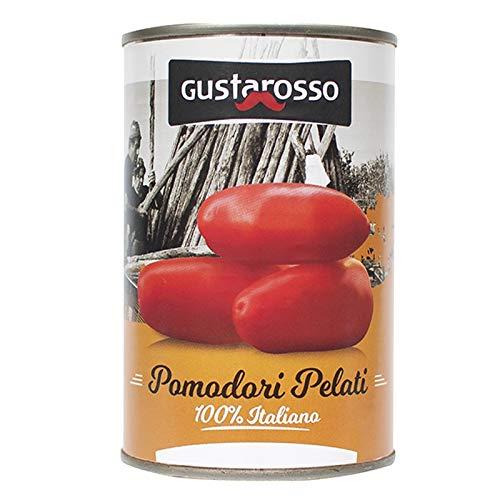 Tomate pelado 100% ITALIANO 400 gr. Gustarosso: Amazon.es: Alimentación y bebidas