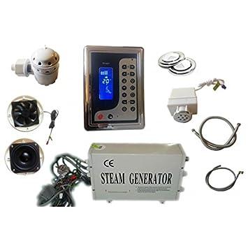 kit hammam generatore di vapore per bagno turco di piccolo volume con display lcd