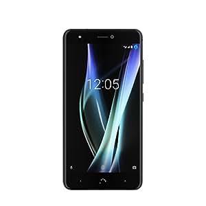 """BQ Aquaris X - Smartphone de 5.2"""" (Nano SIM, Bluetooth 4.2, Octa Core 2.2 GHz, 32 GB de memoria interna, 3 GB de RAM, cámara de 16 MP, Android 7.1.1 Nougat) negro"""