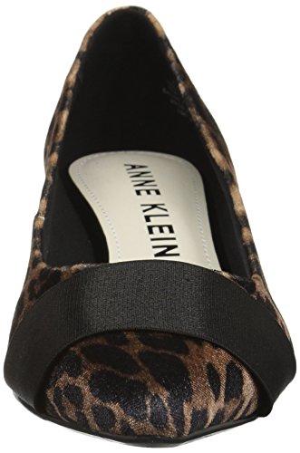 Velvet Anne Heel Klein Women's Pump Xaria Low Leopard wwpvHqS1