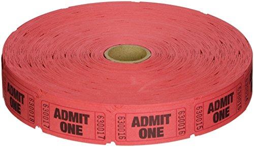 red admit one tickets - 1