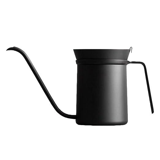 GIGIEroch Hervidor de café fácil de Limpiar para la Oficina Largo ...