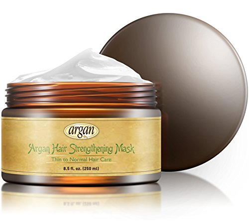 Hair-Strengthening-Deep-Conditioner-Mask-Thin-Fine-Hair-Care-Professional-Moroccan-Argan-Masque-85-oz-Strengthens-Thinning-Brittle-Hair-with-Long-Lasting-Conditioning
