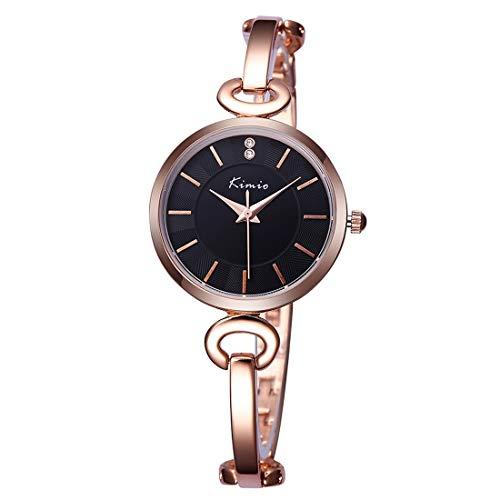 VAXT Lead 3791 Fashionable Quartz Watch Wrist Watch Apparel Watch Chain Watch with Alloy Band & Alloy Case & Bracelet Clasp for Women (SKU : S-wa-8901rg)