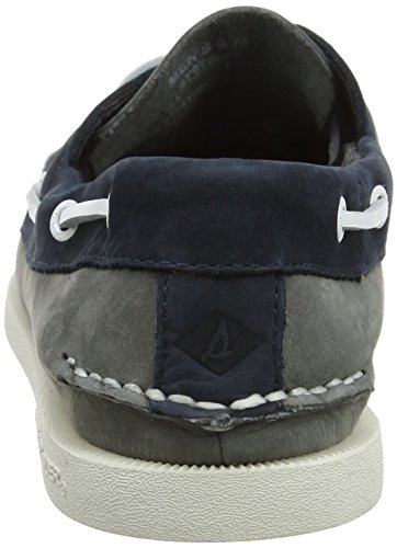 Sider Grey Navy Marron Top Chaussures A 2 Sperry Eye O Washable Homme Bateau Multicolore 5fqw6