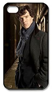 Benedict Cumberbatch as Sherlock Holmes Customizable PC Black iphone 5c Covers by imjerrytks
